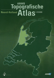 ANWB Topografische Atlas Noord- Holland - 9789018018436 -