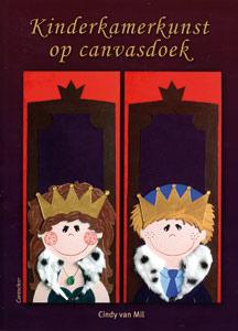 Kinderkamerkunst op canvasdoek - 9789021337791 - Cindy van Mil