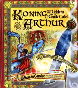 Ridders Aan De Ronde Tafel.Koning Arthur En De Ridders Van De Ronde Tafel