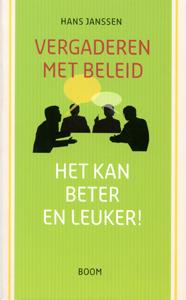 Vergaderen met beleid - 9789053529744 - Hans Janssen
