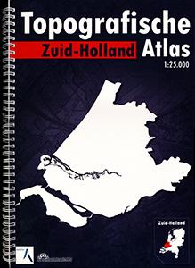 Zuid-Holland topografische atlas - 9789077350393 -