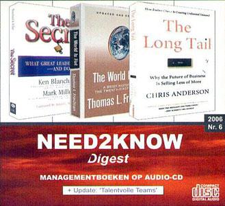 Need2Know 2006 nr.6 - 9789077513156 -  Blanchard