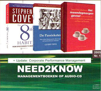 Need2Know 2005 nr.1 - 9789077513163 -  Covey