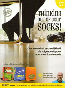 Next! Digest 2007 nr.1 Thinking out of your socks! - 9789079765096 -  Jungbluth
