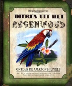 De natuurgids over dieren uit het regenwoud - 9789085530251 - Nancy Honovich