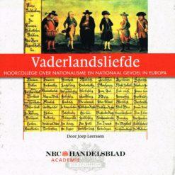 Vaderlandsliefde - 9789085300441 - Joep Leerssen