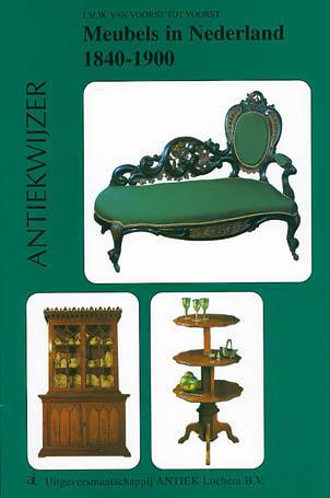Meubels in Nederland 1840-1900 - 9789074213196 -  van Voorst tot Voorst