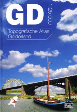 Topografische Atlas Gelderland - 9789077350713 -