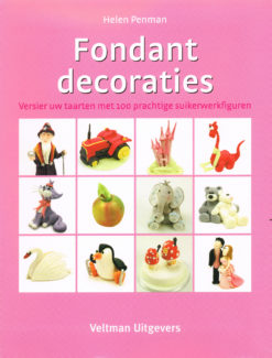 Fondant decoraties - 9789048304486 - Helen Penman