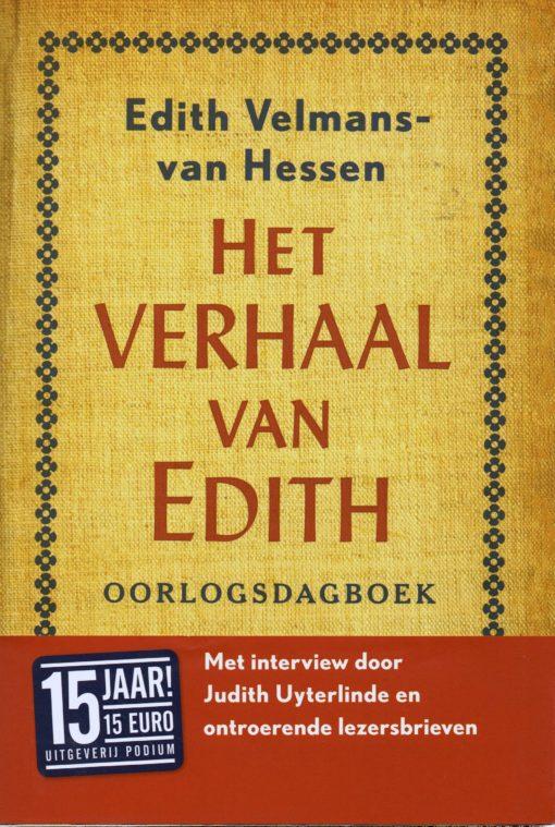 Het verhaal van Edith - 9789057595264 - Edith Velmans-van Hessen