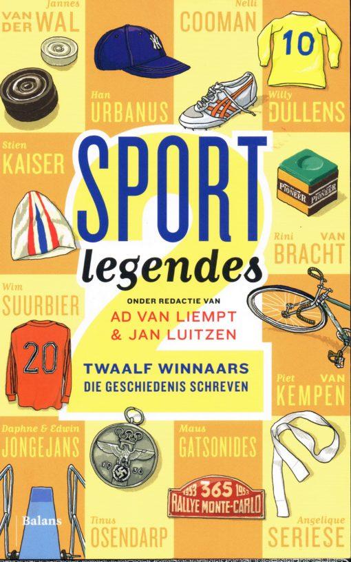 Sport legendes 2 - 9789460036842 - Ad van Liempt