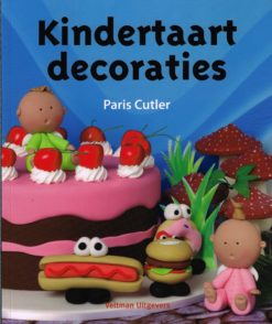 Kindertaart decoraties - 9789048307197 - Paris Cutler