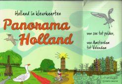 Panorama Holland – kleurkaarten - 9789462500969 -