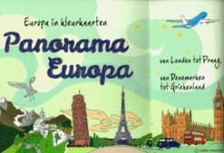 Panorama Europa -kleurkaarten - 9789462500976 -