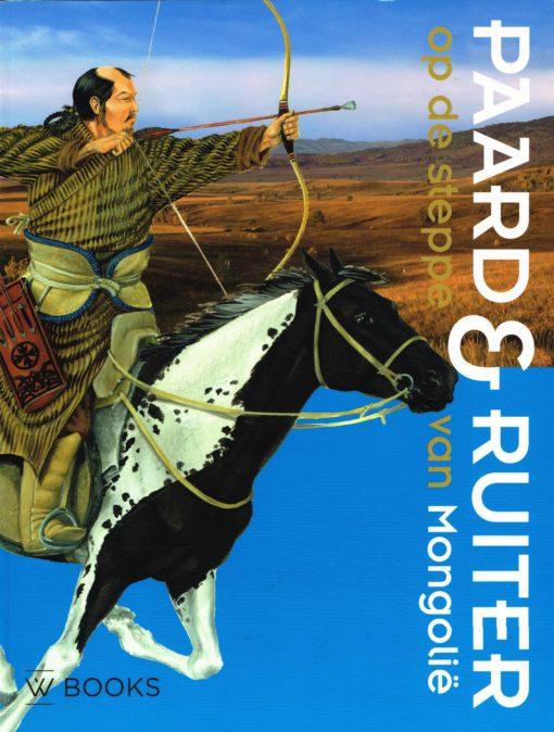 Paard & ruiter op de steppe van Mongolië - 9789040007439 -