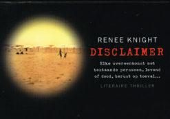 Disclaimer - 9789049804053 - Renee Knight