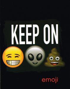 Schrift Emoji (A5) lijn 3-pack - 8712048293352 -