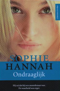 Ondraagelijk - 9789032514488 - Sophie Hannah