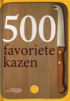 500 favoriete kazen - 9789058564153 - Betty Koster