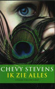 Ik zie alles - 9789023481614 - Chevy Stevens