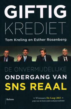 Giftig krediet - 9789460037504 - Tom Kreling