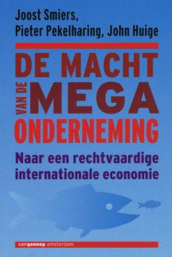 Macht van de megaonderneming - 9789461643933 - Joost Smiers