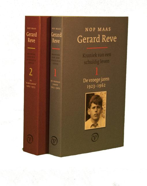 Gerard Reve. Kroniek van een schuldig leven 1 & 2 - 2018012set -