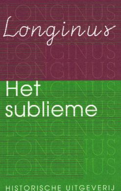 Het sublieme - 9789065540508 -  Longinus