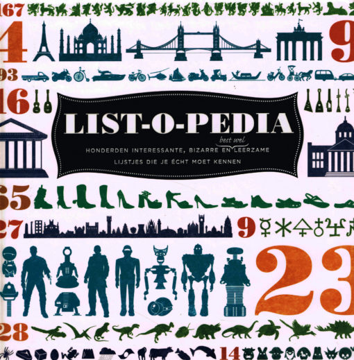 List-o-pedia - 9789089894465 -