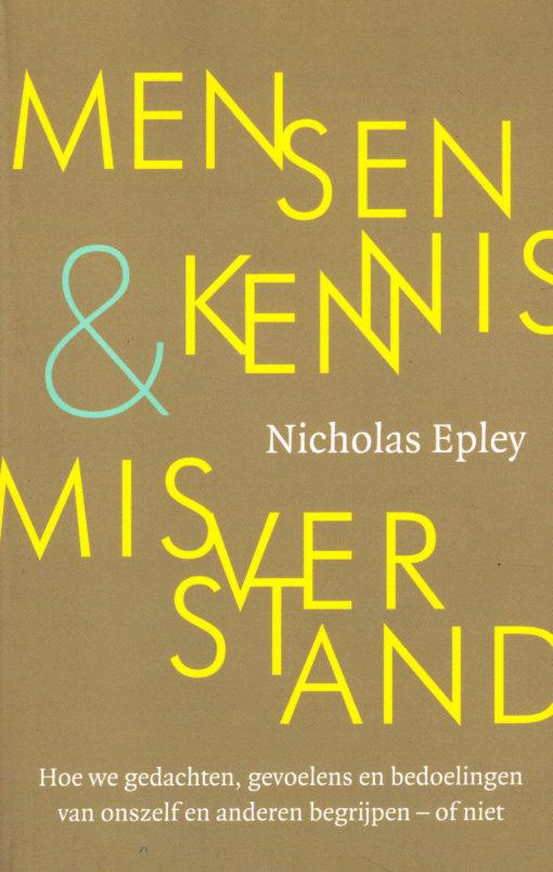 Mensenkennis & misverstand - 9789057123344 - Nicholas Epley