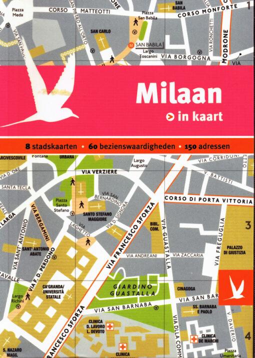 Milaan in kaart - 9789025756550 -