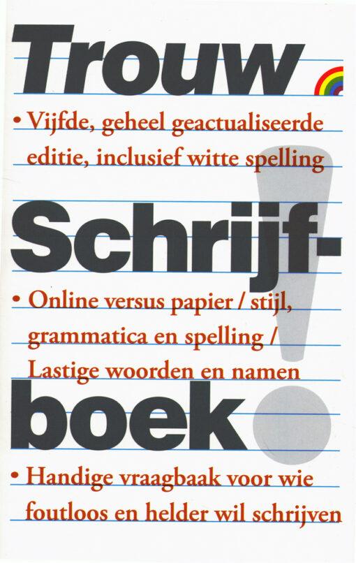 Trouw Schrijfboek - 9789041711359 -