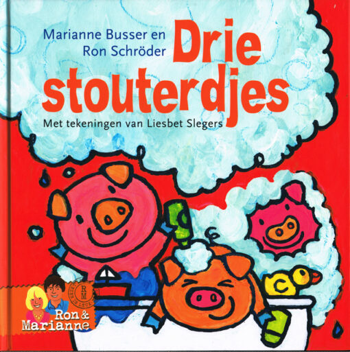 Drie stouterdjes - 9789048831463 - Marianne Busser