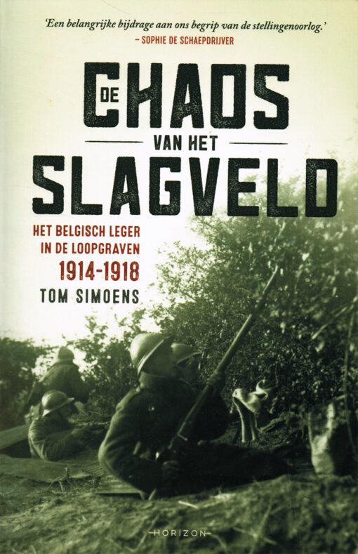 De chaos van het slagveld - 9789492159663 - Tom Simoens
