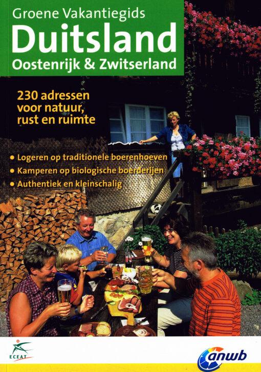 Duitsland, Oostenrijk & Zwitserland. Groene vakantiegids - 9789075050752 -