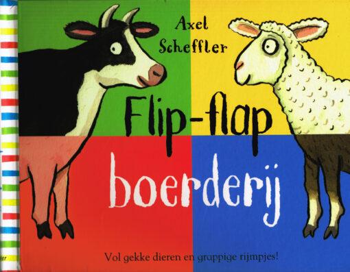Flip-flap boerderij - 9789025754273 - Axel Scheffler