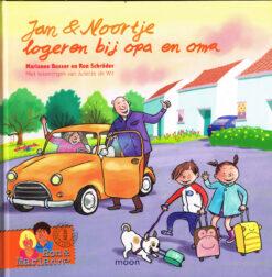 Jan en Noortje logeren bij opa en oma - 9789048829163 - Marianne Busser