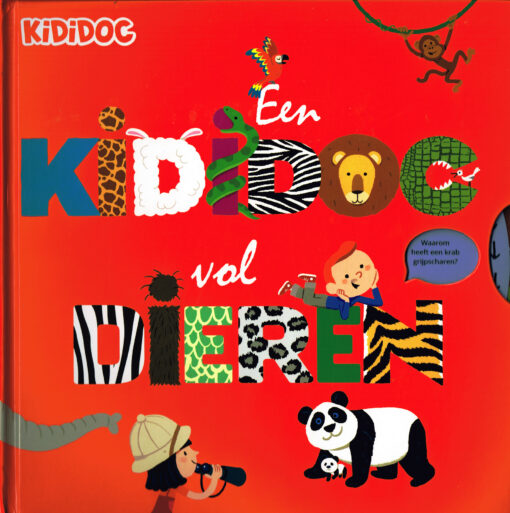 Een Kididoc vol dieren - 9789082224665 - Sylvie Baussier