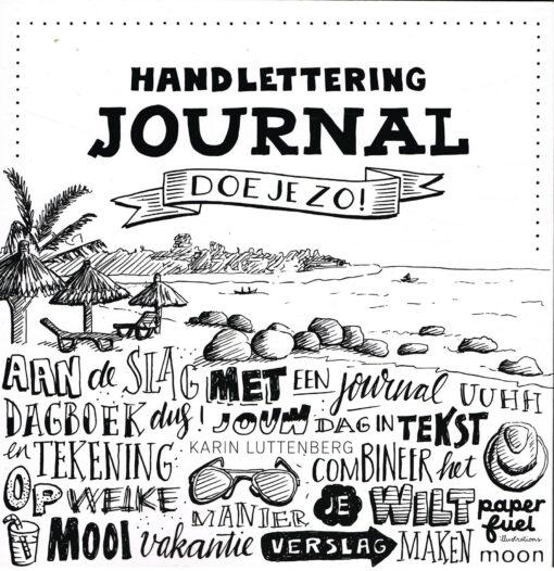 Handlettering journal doe je zo! - 9789048838233 - Karin Luttenberg