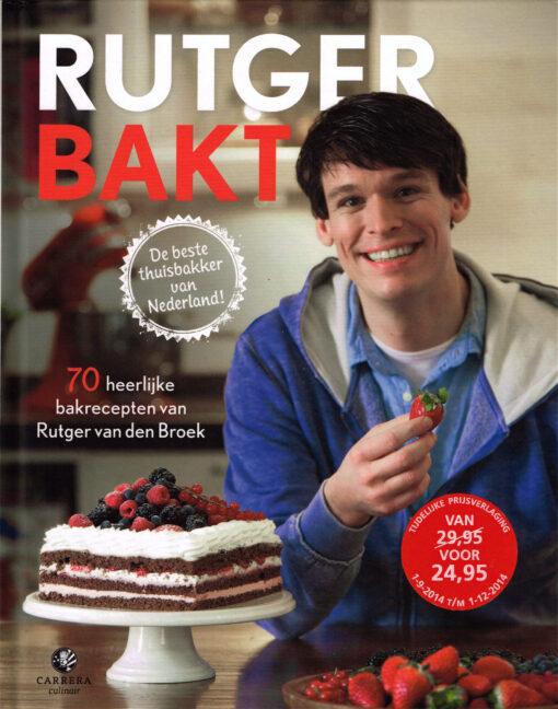 Rutger bakt - 9789048820153 - Rutger van den Broek