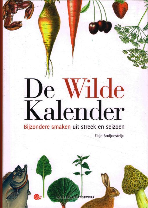 De Wilde Kalender - 9789059565982 - Elsje Bruijnesteijn