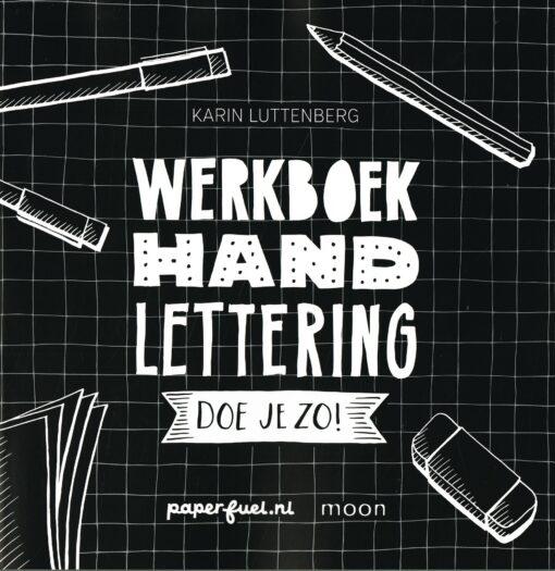 Werkboek handlettering doe je zo! - 9789048837700 - Karin Luttenberg
