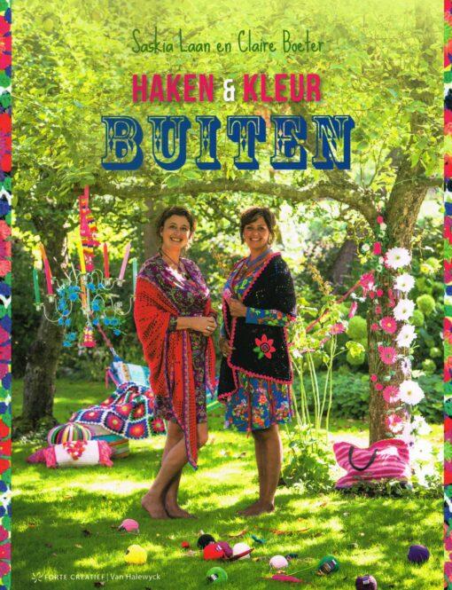 Haken & Kleur Buiten - 9789462500181 - Saskia Laan