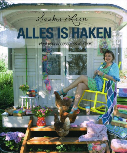 Alles is haken - 9789043918855 - Saskia Laan