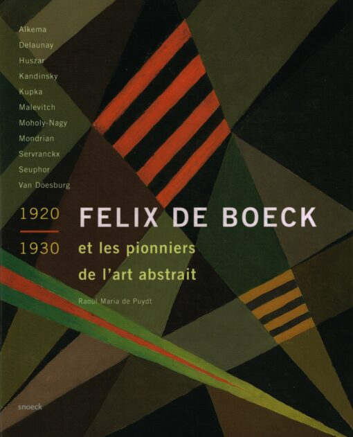 Felix de Boeck - 9789053497791 - Raoul Maria de Puydt