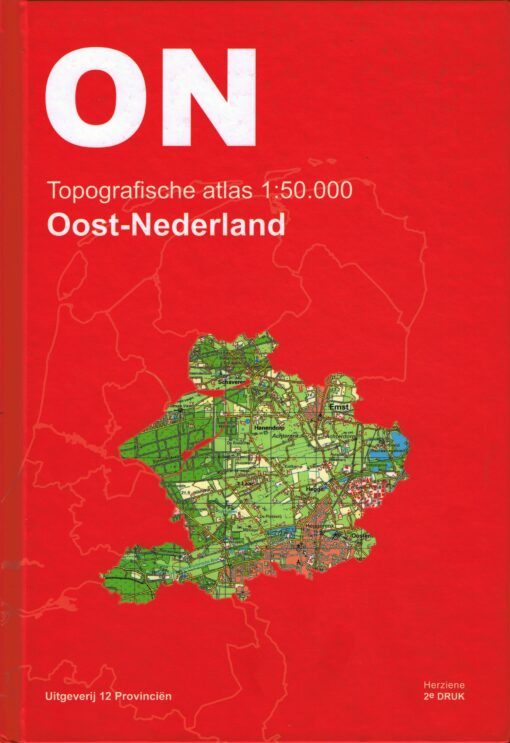 Topografische atlas Oost-Nederland - 9789492534064 -