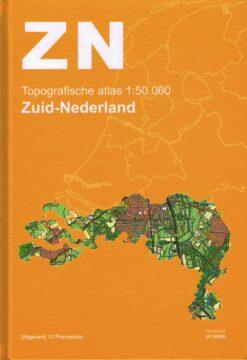 Topografische atlas Zuid-Nederland - 9789492534071 -