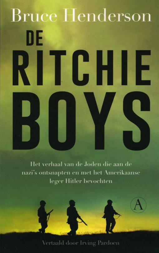De Ritchie-boys - 9789025300906 - Bruce Henderson