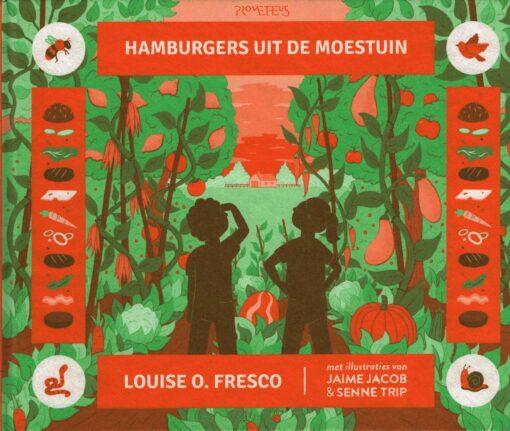 Hamburgers uit de moestuin - 9789044638615 - Louise Fresco