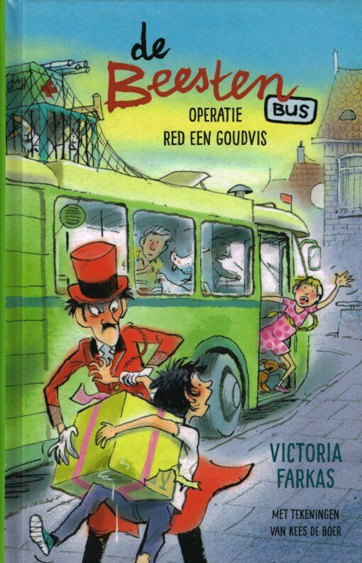 De Beestenbus - 9789048838837 - Victoria Farkas